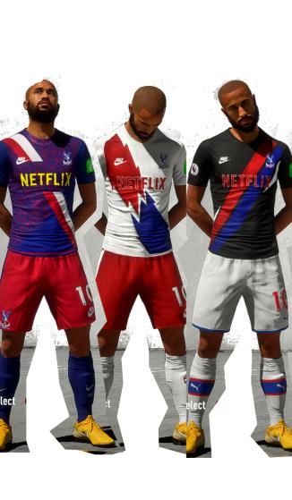 New kits all