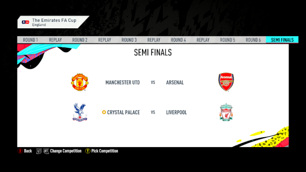 FA Cup semi fixture